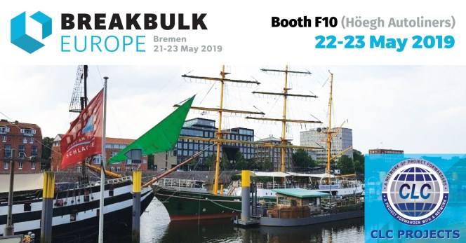 CLC Projects will be Attending Breakbulk Europe