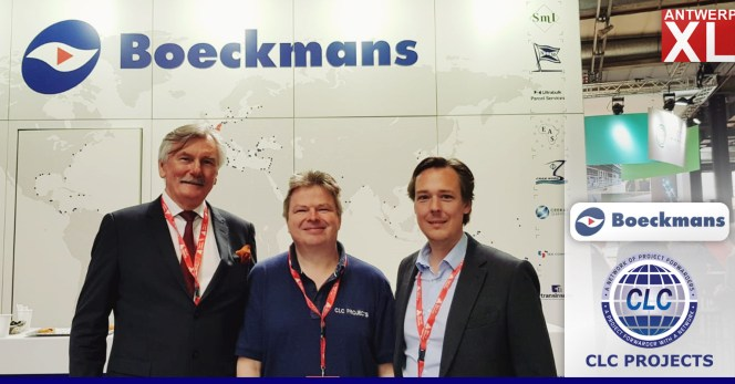 CLC Chairman meeting Boeckmans at AntwerpXL