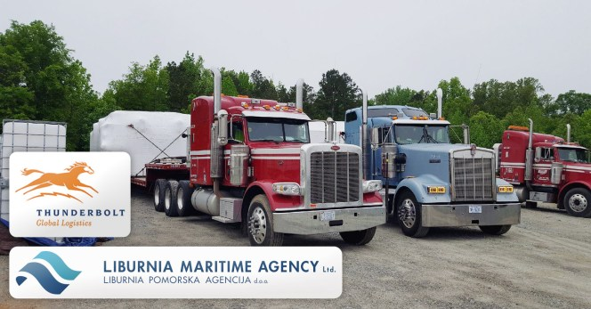 Liburnia Netherlands Completed a Project from Croatia to South Boston, Virginia with the Big Help of Thunderbolt Global Logistics