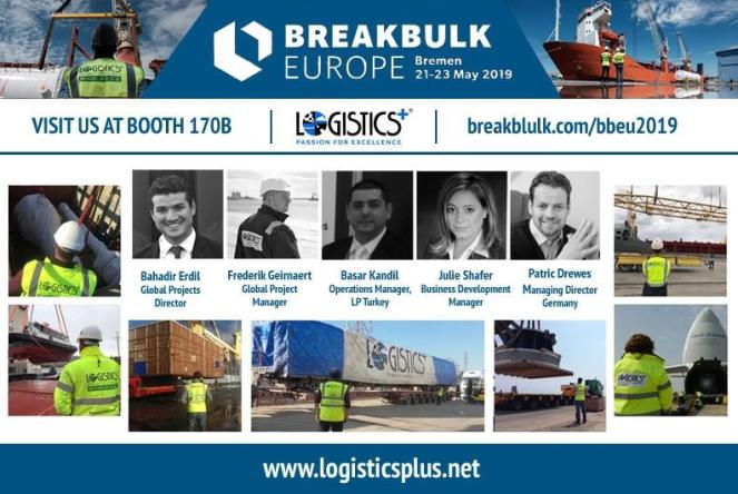 Logistics Plus Will Have Their Own Booth at Breakbulk Europe