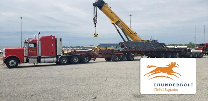 Thunderbolt Successfully Delivered a Steel Mill roll from Port of Baltimore to Bettendorf Iowa