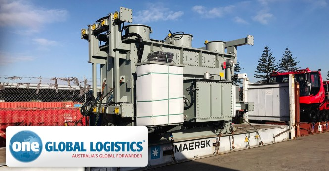One Global Logistics Managed 10 x 40' Flat Racks for ABB from Germany to East Lake Sub Station in Sydney