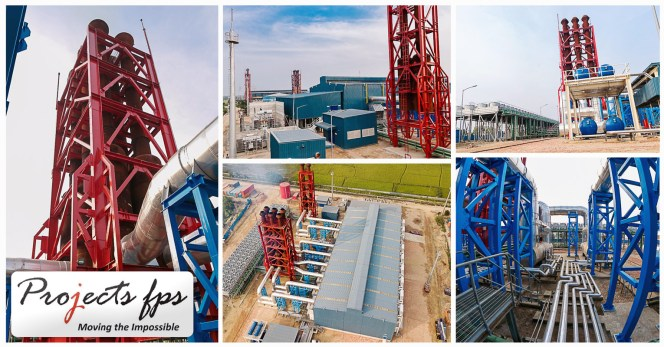 Projects FPS Completed the Project Logistics for the Avive 100mw Thermal Power Plant  in Bangaladesh