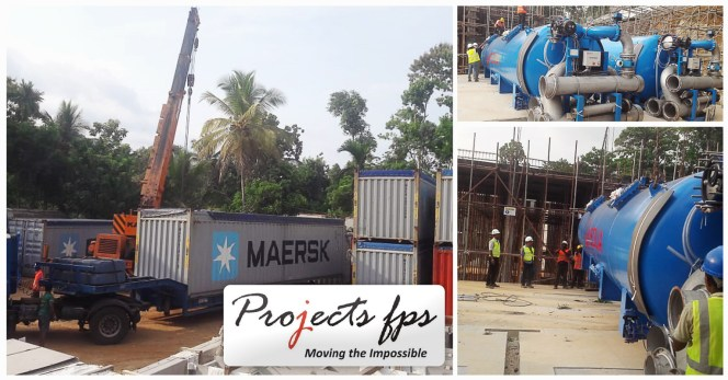 Projects FPS Handled a Water Treatment Plant Project in Sri Lanka