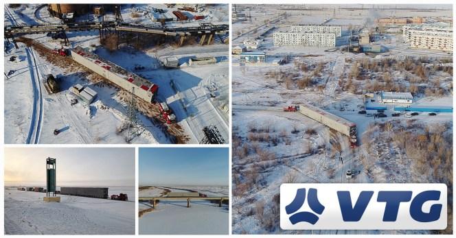 VTG Moved an Air Separation Units to Temirtau Kazakhstan