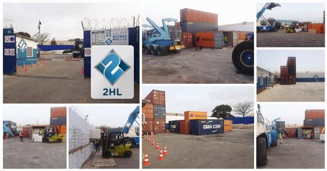 2HL Senegal Showcasing Their 2200sqm Yard