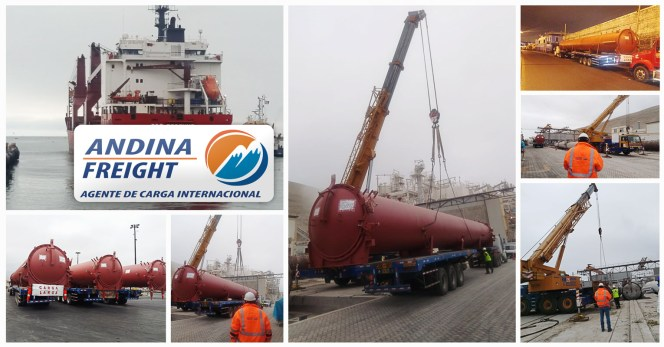 Andina Freight Full Sea Project Delivery From Germany to Peru
