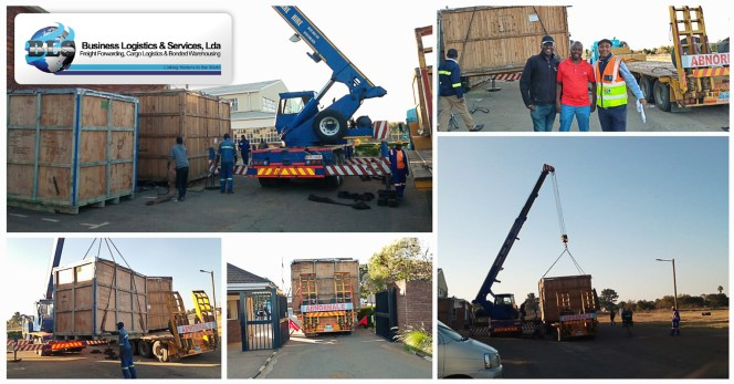 BLS Mozambique Handled Indian Embassy Cargo