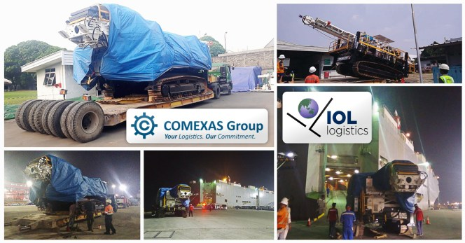 IOL Logistics Indonesia And Comexas Belgium Completed A Joint Project By RoRo
