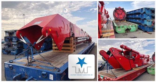 M-Star Projects Transported Another Bulk Crane – Shipped Dismantled from Hamburg to Honolulu