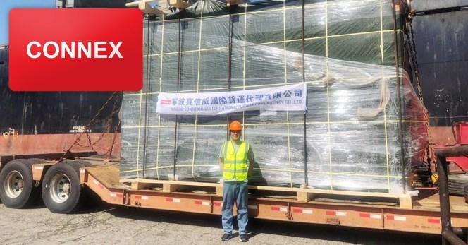 Ningbo Connexion International Shipped A 67 Ton Press Machine From Ningbo To Kaohsiung