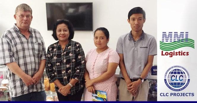 CLC Projects met with Myanmar member MMI in Yangoon