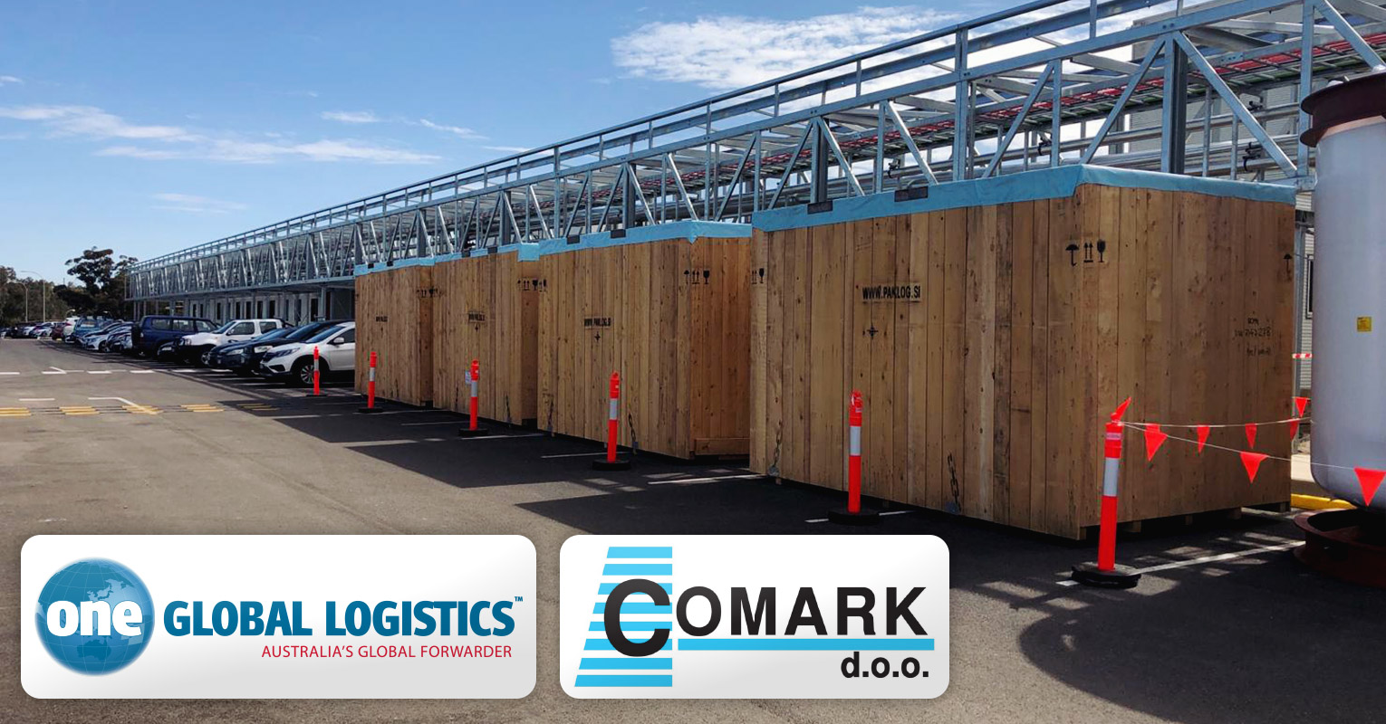 One Global Logistics Successfully Handled an Import Project Delivery for CSL Behring in Melbourne Appointed by Comark Slovenia