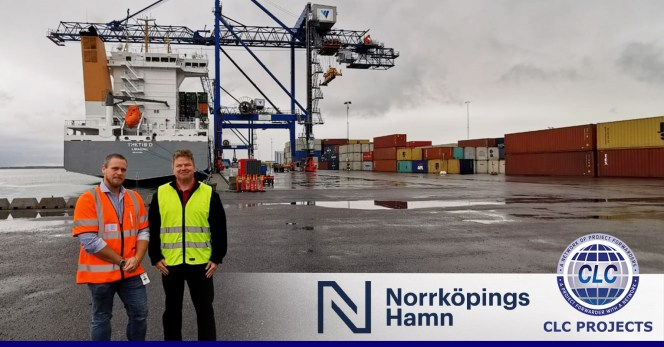 CLC Projects Met with Port of Norrkoeping in Sweden