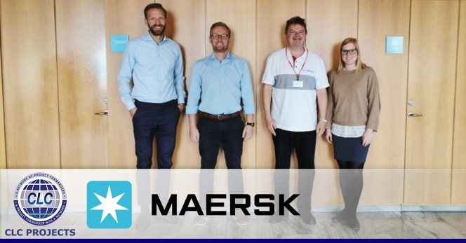 CLC Projects met with Maersk in Copenhagen
