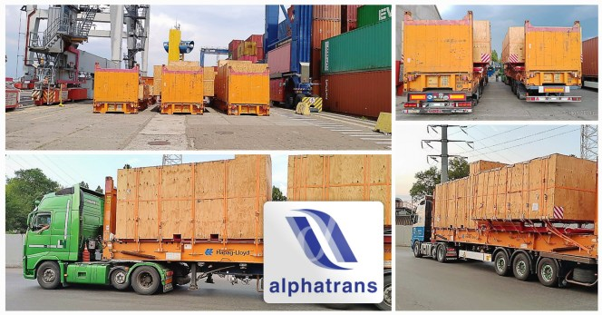 Alphatrans Shipped Blowout Preventer Equipment