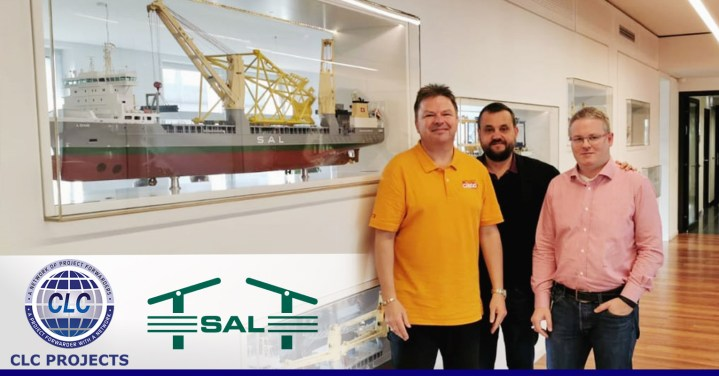 CLC Projects and SAL at their Head Office in Hamburg
