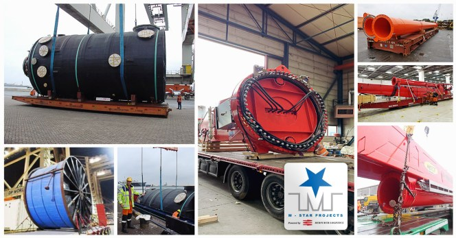 M-Star Projects Handled Smaller Cargo