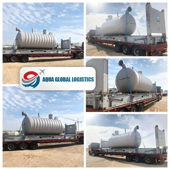 Aqua Air Logistics latest Project Cargo from UK to Doha