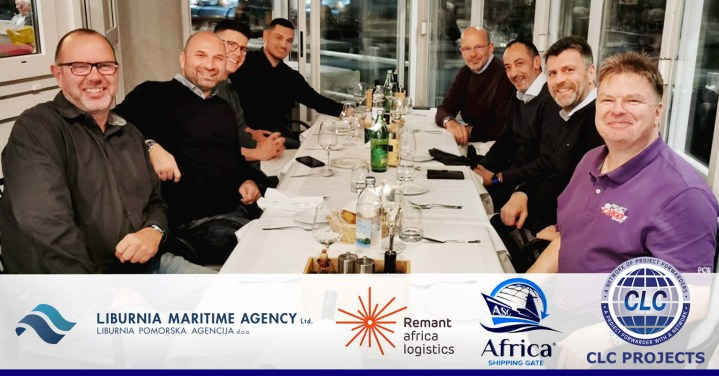 CLC Projects with Remnant Africa Logistics, Africa Shipping Gate and Liburnia Maritime Agency in Opatija, Croatia
