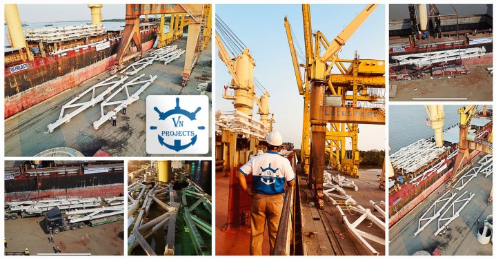VN Projects chartered the full voyage for about 8000 cbm