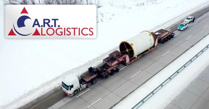 A.R.T. Logistics 110 tons Road Train