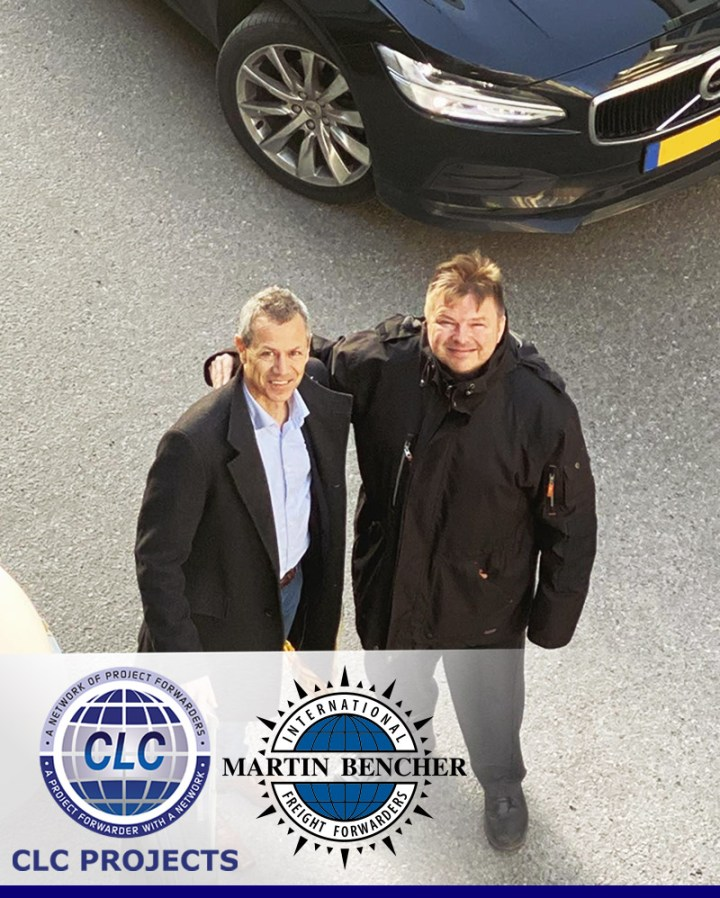 Chairman of CLC Projects with the CEO of Martin Bencher Group in Stockholm