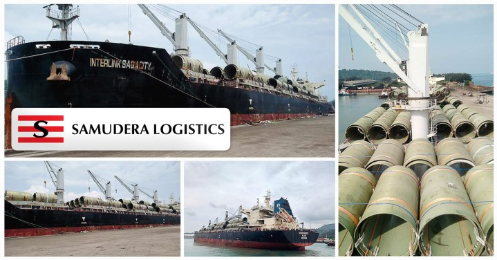 Pt Silkargo Indonesia Shipped a Total of 329 Pcs Weighing 2,837.55 Kg and Measuring 26,179 Cbm Onboard Mv Interlink Sagacity