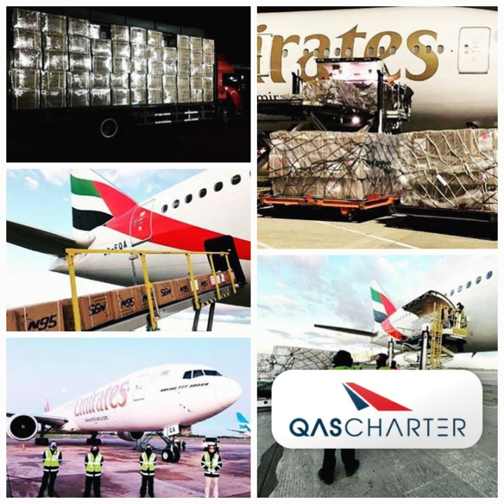 QAS Charter Arranged Another Full Charter Flights from China to Argentina on a Passenger Boeing 777 Aircraft