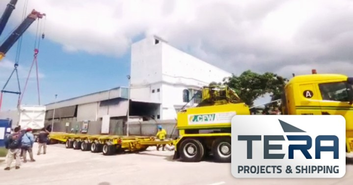 Tera Projects Delivered a Cold Box to Door in Malaysia