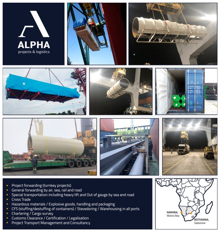 New member representing Namibia & Botswana – ALPHA Projects & Logistics