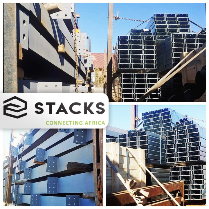 STACKS South Africa Handles the First Loads Headed to Lubumbashi for a New Mall Construction Project