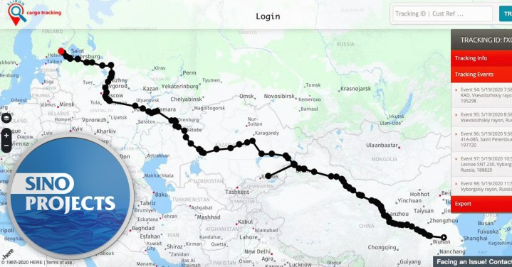 SinoProjects Highlights the 11 Day Transit Time from Hefei to Helsinki through Alashankou by Block Train Service