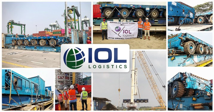 IOL Logistics Handled a Power Plant Project