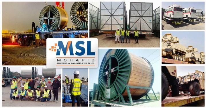 New member representing Pakistan – Msharib Shipping & Logistics