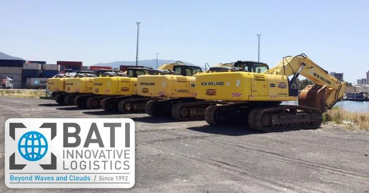 BATI Groutp Moves Excavators