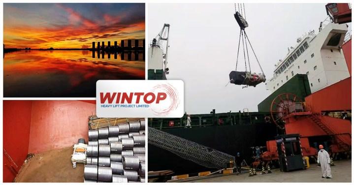Wintop Heavy Lift Shipped 2 x 82 mt Breakbulk Pieces ex Shanghai to Kandla