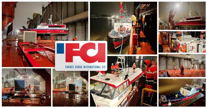 FCI Loaded their last Shipment of 2020 at Rouen Port on the Night of the 30th of December