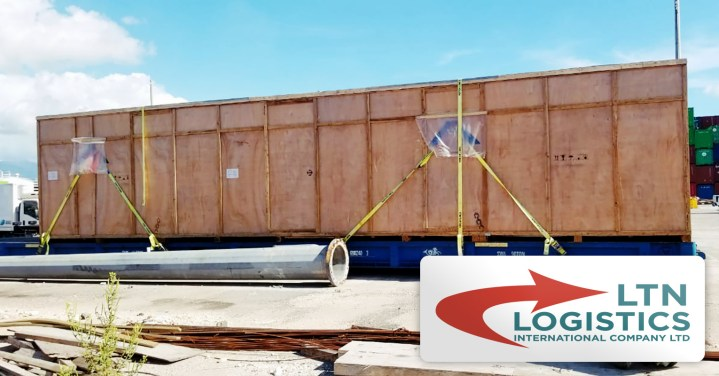 LTN Handled a Regasification Skid for an LNG Power Plant