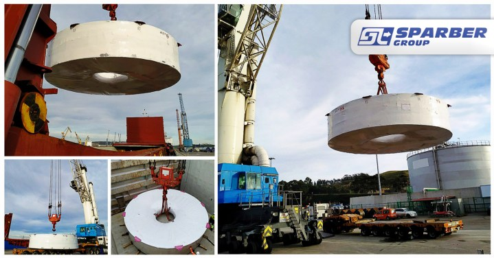 Sparber Group Shipped 56mt Wind Energy Cargo from Spain to France