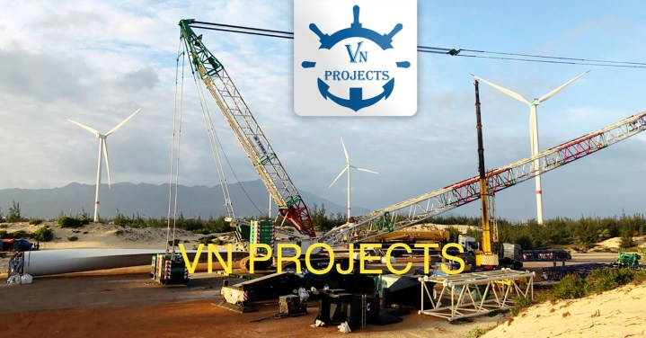 VN Projects has been Offering the Installation of Wind Turbines in the Vietnam Market