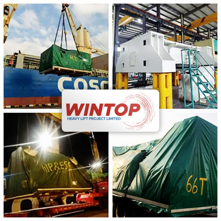 Wintop Heavy Lift Shipped High Precision Compact Power Presses from Shanghai to Laem Chabang