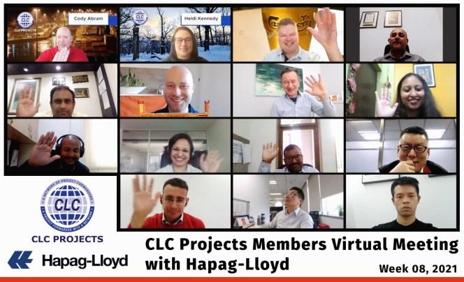 CLC Projects Hapag Lloyd Meetings