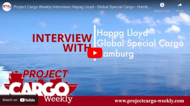 Hapag Lloyd Special Cargo Video Interview