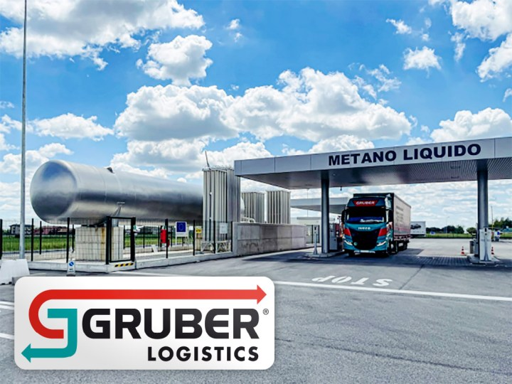Gruber Logistics the First Company in Europe to Plan a Full Decarbonised Multimodal Transport BioLNG + Railway + Biodiesel