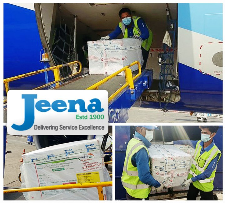 Jeena & Co. is Super Proud and Grateful to Make a Positive Contribution to Society by Providing Vaccines to Help Fight COVID-19