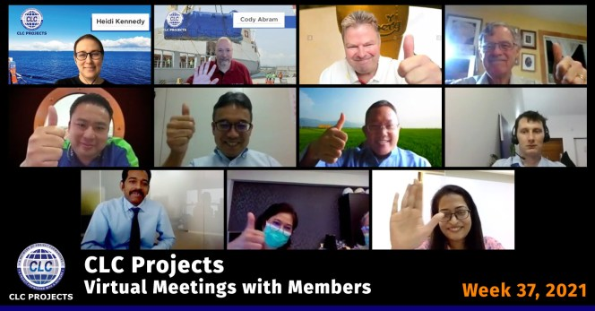 CLC Projects Meeting Screenshot
