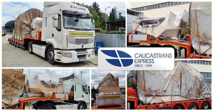 Caucastransexpress Delivered Oversized Cargo from Bulgaria to Uzbekistan via Turkey, Georgia, Azerbaijan and Turkmenistan