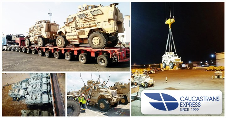 Caucastransexpress Performed a Successful Heavy Vehicle Project
