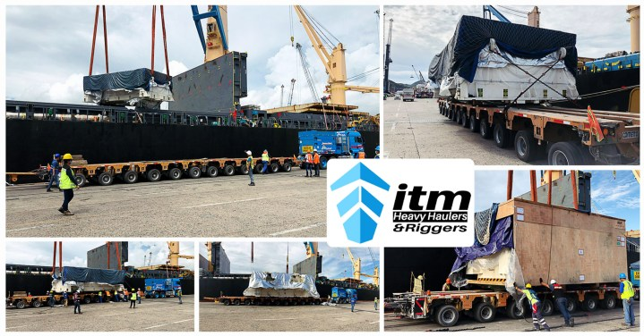 ITM Projects Handled Automotive Press Machinery Weighing 176mt, 135mt and 119mt plus 48 Oversized & In-gauge Truck Loads